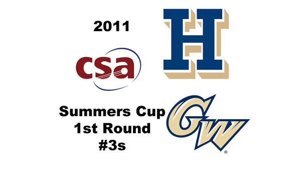 2011 Summers Cup - #3s: Harry Keeshan (Hamilton) and Jose Calderon (George Washington)