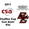2011 Chaffee Cup - #3s: Alex Spiliotes (Haverford) and Joshua Ko (Boston College)