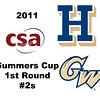 2011 Summers Cup - #2s: Omar Sobhy (George Washington) and James Hogan (Hamilton)