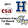 2011 Summers Cup - #2s: Omar Sobhy (George Washington) and James Hogan (Hamilton)