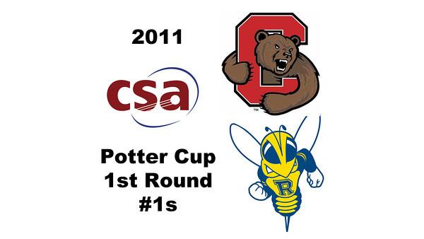 2011 Potter Cup - #1s: Benjamin Fischer (Rochester) and Nicholas Sachvie (Cornell)<br /> <br /> Part 1