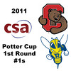 2011 Potter Cup - #1s: Benjamin Fischer (Rochester) and Nicholas Sachvie (Cornell)<br /> <br /> Part 1