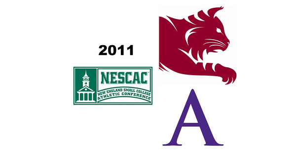 2011 NESCAC Squash Championships: Chandler Lusardi (Amherst) and Ashley Brooks (Bates)