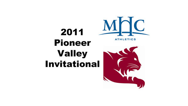 2011 Pioneer Valley Invitational: Ashley Brooks (Bates) and Tempest Bowden (Mount Holyoke)