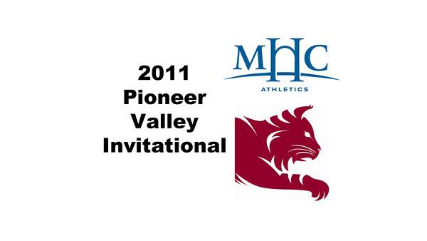 2011 Pioneer Valley Invitational: Shara Robertson (Mount Holyoke) and Maura Neal (Bates)