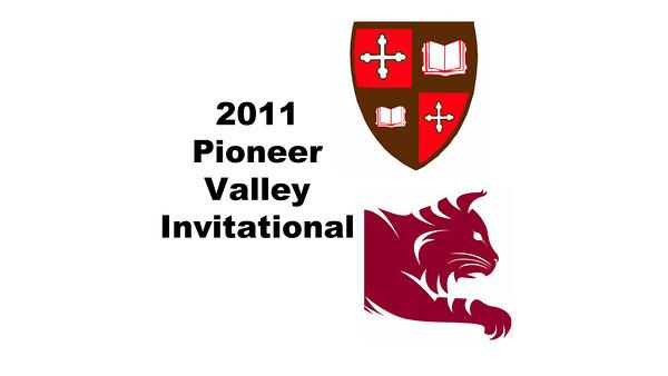 2011 Pioneer Valley Invitational: R.J. Keating (Bates) and Vir Seth (St. Lawrence)