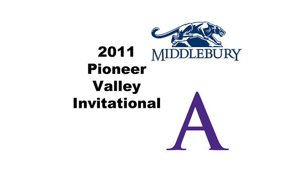 2011 Pioneer Valley Invitational: Abigail Jenkins (Middlebury) and Chandler Lusardi (Amherst)