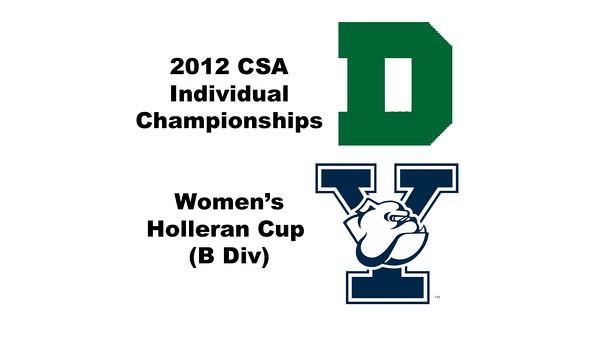Holleran Cup (Round of 16): Shihui Mao (Yale) and Rebecca Lau (Dartmouth)