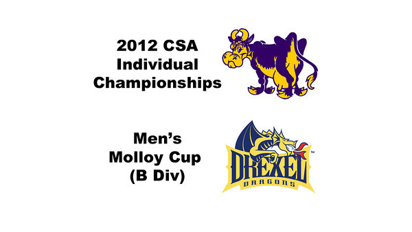 Molloy Cup (Round of 32): William Morris (Williams) and Justin Singh (Drexel)