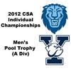 Pool Trophy (Round of 32): Ramit Tandon (Columbia) and Ryan Dowd (Yale)