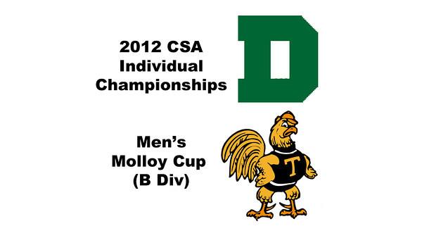 Molloy Cup (Round of 32): Matthew Mackin (Trinity) and Robert Maycock (Dartmouth)