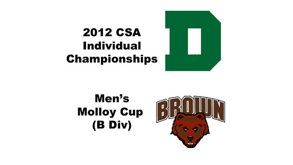 Molloy Cup (Round of 16): Blake Reinson (Brown) and Luke Lee (Dartmouth)