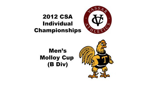 Molloy Cup (Round of 64): Moustafa Hamada (Trinity) and Michael Sankovich (Vassar)