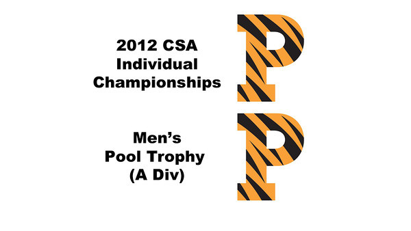 Pool Trophy (Quarters): Todd Harrity (Princeton) and Kelly Shannon (Princeton)