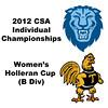 Holleran Cup (Round of 64): Alisha Maity (Columbia) and Andrea Echeverria (Trinity)