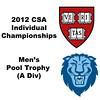 Pool Trophy (Finals): Ali Farag (Harvard) and Ramit Tandon (Columbia) - Part 1