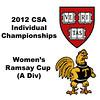 Ramsay Cup (1st Consolation, Round 1): Natasha Kingshott (Harvard) and Jennifer Pelletier (Trinity)
