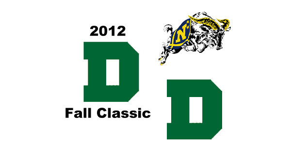 2012 Dartmouth Fall Classic - M1s: Chris Hanson (Dartmouth) and Andrew McGuinness (Navy)