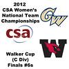 a51 2012 Women's College Squash Association National Team Championships - Walker Cup (C Division): Tiffany Hingley (George Washington) and Ellen Schwed (Wesleyan)