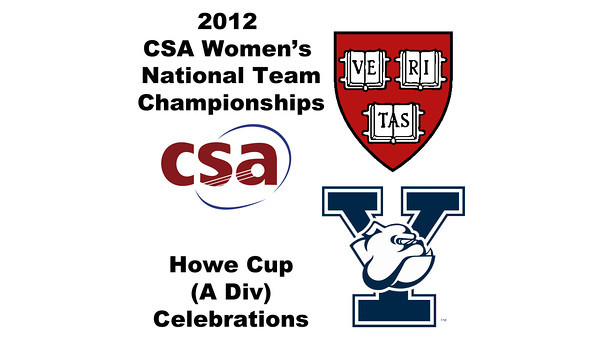 a49 2012 Women's College Squash Association National Team Championships - Howe Cup (A Division): Celebration