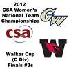 a52 2012 Women's College Squash Association National Team Championships - Walker Cup (C Division): Lauren Mathieu (George Washington) and Lauren Nelson (Wesleyan)