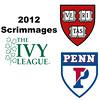 2012 Ivy League Scrimmages - W3s: Michelle Gemmell (Harvard) and Rachael Goh (Penn)