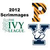 2012 Ivy League Scrimmages - M2s: Tyler Osborne (Princeton) and Hywel Robinson (Yale)