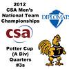 2012 Men's College Squash Association National Team Championships - Potter Cup (A Division): Miled Zarazua (Trinity) and Mauricio Sedano (Franklin & Marshall)