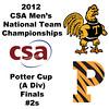 2012 Men's College Squash Association National Team Championships - Potter Cup (A Division): Antonio Diaz Gonzalez Salas (Trinity) and Christopher Callis (Princeton)<br /> <br /> Game 4