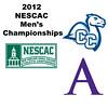 2012 NESCAC Men's Championships: #3s - David Kerr (Amherst) and John Sluder (Conn College)