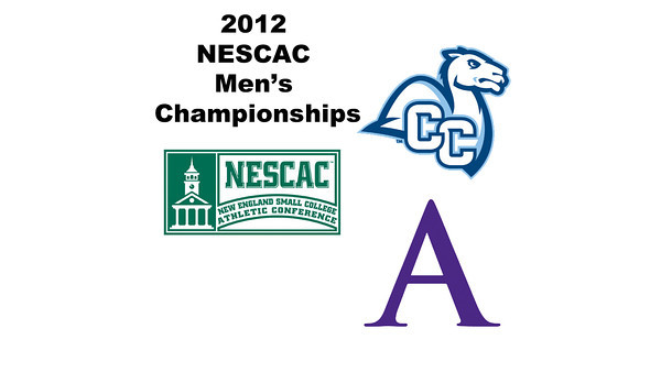 2012 NESCAC Men's Championships: #1s - Caleb Garza (Conn College) and Scott Desantis (Amherst)