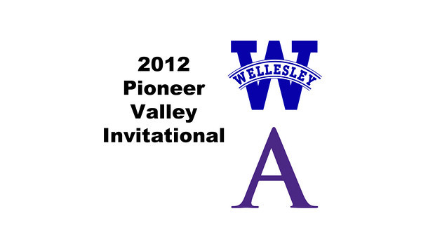 2012 Pioneer Valley Invitational: #3s - Chandler Lusardi (Amherst) and Sara Del Balzo (Wellesley)