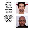 2012 World Class Squash Camp: Shahier Razik (Canada) and Lekgotla Mosope (Botswana)<br /> <br /> Game 1