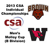 2013 College Squash Individual Championships - Molloy Cup - Quarters: Blake Reinson (Brown) and John Steele (Wesleyan)