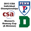 2013 College Squash Individual Championships - Ramsay Cup - Round of 32: Nabilla Ariffin (Penn) and Corey Schafer (Dartmouth)