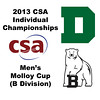 2013 College Squash Individual Championships - Molloy Cup - Round of 16: Robert Maycock (Dartmouth) and Andrew Hilboldt (Bowdoin)