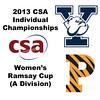 2013 College Squash Individual Championships - Ramsay Cup - Round of 32: Shihui Mao (Yale) and Nicole Bunyan (Princeton)