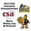 2013 College Squash Individual Championships - Molloy Cup - Round of 32: Binura Jayasuriya (Drexel) and Zeyad Elshorfy (Trinity)