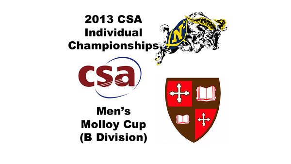 2013 College Squash Individual Championships - Molloy Cup - Round of 32: Andrew McGuinness (Navy) and Kyle Ogilvy (St. Lawrence)