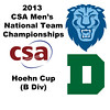 2013 Men's College Squash National Team Championships: Ramit Tandon (Columbia) and Christopher Hanson (Dartmouth)