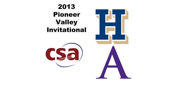 2013 Pioneer Valley Invitational: Chandler Lusardi (Amherst) and Amanda Thorman (Hamilton
