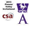2013 Pioneer Valley Invitational: James Van Staveren (Western Ontario) and Scott Desantis(Amherst)
