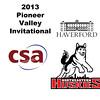 2013 Pioneer Valley Invitational: Andrew McComas (Haverford) and Dennis Brinkworth (Northeastern)