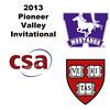 2013 Pioneer Valley Invitational: Yeshale Chetty (Western Ontario) and Tyler Olson (Harvard)