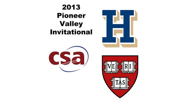 2013 Pioneer Valley Invitational: Natasha Kingshott (Harvard) andElizabeth Morris (Hamilton)