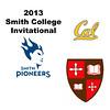 2013 Smith College Invitational: Brigitte Tousignant (St. Lawrence) and Nicola Bradshaw (Cal Berkeley)