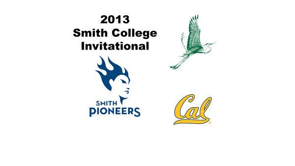 2013 Smith College Invitational: achel Newman (William Smith) and Nicola Bradshaw (Cal Berkeley)
