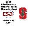 2013 Women's College Squash Association National Team Championships: Richey Award Presentation