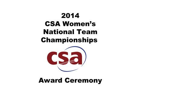 b26 2014 WCSATC Award Ceremony