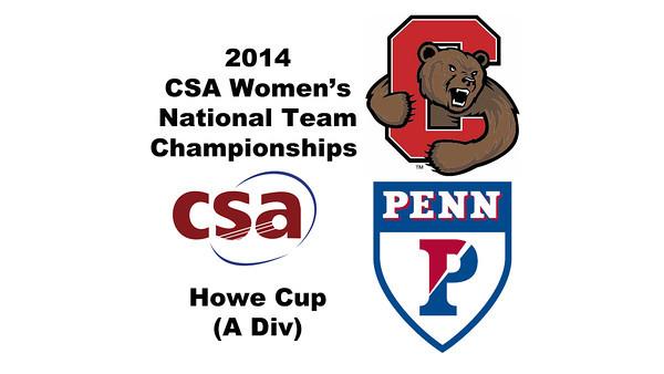 9 2014 WCSATC Penn Cornell 3s HC